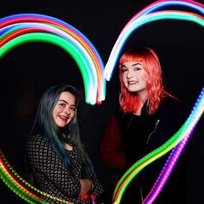 Light Painting Photo Booth in London
